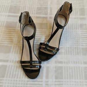 Nine West Heels | Strappy | Black | Size 7